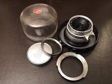 """Leica Summaron 1:2.8/35mm CROMO m39 + Leica M """"di una singola dose stato"""""""