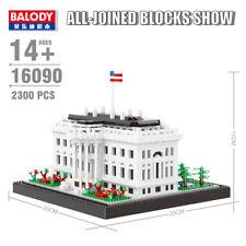 BALODY The White House Architecture Diamond Mini Building Nano Blocks Bricks Toy