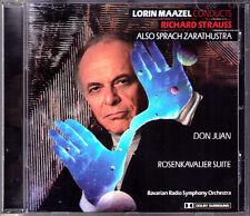 Lorin Maazel: Richard Strauss quindi vocale Zarathustra Don Giovanni ROSE gentiluomo CD