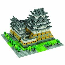 NANOBLOCK HIMEJI CASTLE DELUXE 2200+ pcs Building Blocks Nanoblocks Nano NB-006