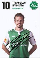 Tranquillo Barnetta  FC St Gallen  Fußball Autogrammkarte signiert 356050