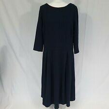 Woman's Boden blue winter dress size 22