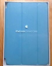 GENUINE APPLE iPAD MINI 1 2 3  SMART CASE LEATHER LIGHT BLUE NEW