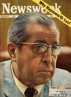1969 Newsweek December 1 - Joe Kennedy dies; Song My atrocity; Princeton;Crapper