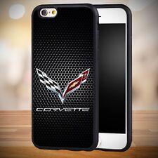 Corvette Chevy black iphone 7 case cover
