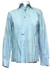 Kenneth Cole Men's Button Up Shirt, Teal Color - Size Medium