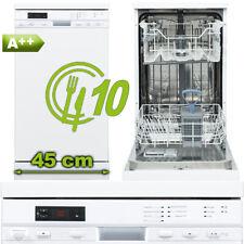 Geschirrspüler A++ Standgerät 45cm 10 Maßgedecke unterbaufähig Spülmaschine frei