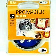 Promaster 49mm 80A Camera Color Filter