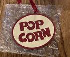 Longaberger Popcorn Basket Tie On NIB