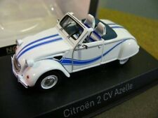 1/43 Norev Citroen 2CV Azelle weiß/blau 150093