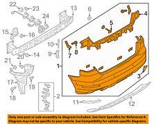 AUDI OEM 15-16 A3 Rear Bumper-Cover 8V5807067AGRU