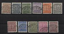 SBZ 126-137 Y gestempelt (B02897)