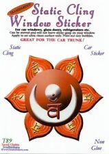 Sacral Chakra Static Cling Window Sticker