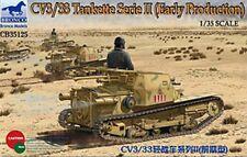 Bronco 1/35 35125 CV3/33 Tankette Serie II (Early Production)