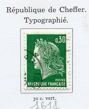 STAMP / TIMBRE FRANCE OBLITERE N° 1611 REPUBLIQUE DE CHEFFER