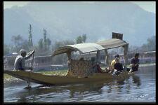 491074 IL LAGO ACQUA TAXI Kashmir India A4 FOTO STAMPA