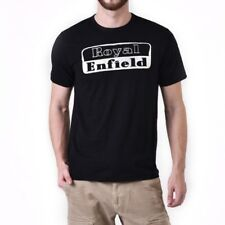 Royal Enfield Black Logo T-shirt - X-large