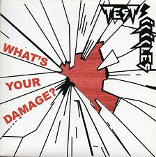 "TEST ICICLES - WHAT'S YOUR DAMAGE? - 7"" VINYL SINGLE 1 - DIE CUT PICTURE COVER"
