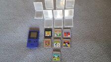 Nintendo game boy color + 7 Games
