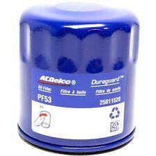 AC Delco PF53 Oil Filter 2 each