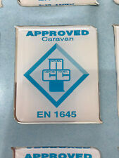 NCC Approved Caravan Badge Decal Dent Cover Up Resin Flexi Sticker EN1645