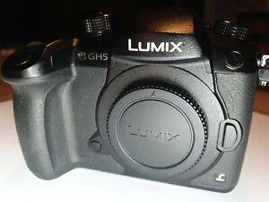 Panasonic Lumix DC-GH5 20MP Camera - Black (Body Only)