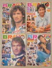 BRAVO Hefte von 1988 / 4 Stück  Nr. 3. 4. 5. 8