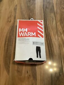 Bnib Helly Hansen Merino Wool And Lifa Large 3/4 Warn Baselayer Pant