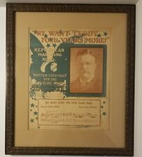 1904 NY World Newspaper Supplement, Theodore Roosevelt Republican Marching Song