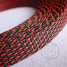 20mm New Tight Braided PET Expandable Sleeving Cable Wire Sheath (6 Color)