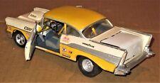 Revell 70s Vintage '57 Chevy Bel Air Track Racer BuiltPainted 1/25 Model Kit Car