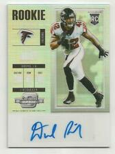 Duke Riley RC 2017 Contenders Optic Auto Prizm Football Card