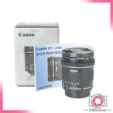 - Canon EF S 10-18mm f4.5-5.6 Lens IS STM