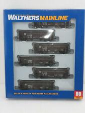 HO Walthers Mainline 910-56951: 36' 2-Bay Offset Hopper 6-Pack SANTA FE ATSF NIB