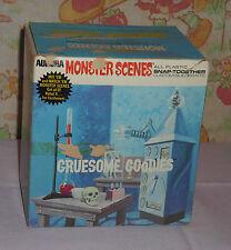 vintage 1971 Aurora Monster Scenes model kit GRUESOME GOODIES ORIGINAL BOX only
