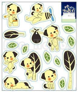 Glow Sticker Carton Puppy Glow In The Dark Sticker Cute Puppy