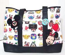 Disney Parks Emoji Mickey & Friends Tote by Loungefly Disney Boutique Stitch