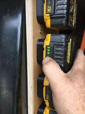 DeWalt XR Battery Wall / Shelf Mounts For Racks Van Tough System Cases X 5