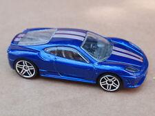 2014 Hot Wheels FERRARI 430 SCUDERIA from 5 Pack LOOSE Blue