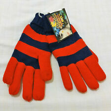 Winter Mudd Unisex red blue Everyday Mittens Gloves Knit 1 Sz, Fundraiser,