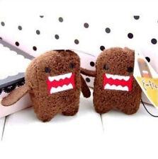 FD4672* Domo Kun Figure Plush Soft Cartoon Chain Cell Phone Mobile Bag Chain 1pc