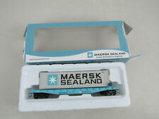 Walthers Maersk Sealand Container Car HO Scale-New Opened Box