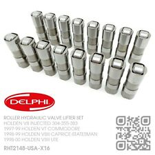 DELPHI ROLLER VALVE LIFTER SET INJECTED 304-355 V8 MOTOR [HOLDEN VT COMMODORE]