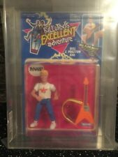 BILL AND TED'S EXCELLENT ADVENTURE HASBRO FIGURE 1991 GRADED UKG85 MINT