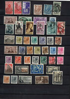 46 timbres Italie années 1953/54