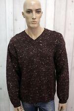 MARLBORO CLASSICS Maglione Uomo Taglia XL Seta Invernale Casual Sweater Pullover