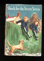 SHOCK FOR THE SECRET SEVEN    Enid Blyton  H/bk D/w