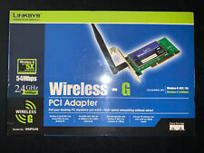 Linksys WMP54G (745883555031) PCI Adapter