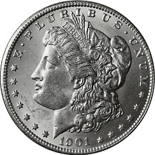 1901-S Morgan Silver Dollar BU
