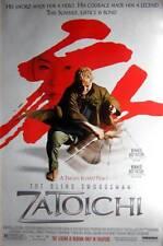 ZATOICHI (Blind Swordsman) - D/S- Original Rolled 27x40 movie poster